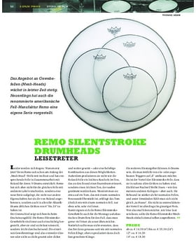 Remo Silentstroke Drumheads