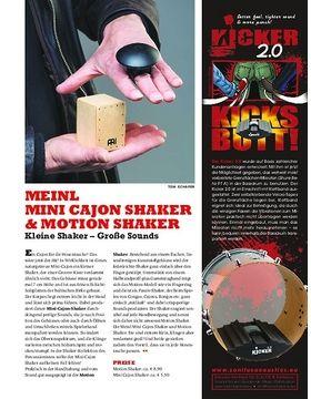Meinl Motion Shaker & Mini Cajon Shaker - Kleine Shaker, Große Sounds