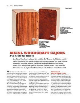 Meinl Woodcraft Cajons