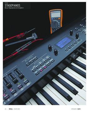 Neue Stagepianos im Vergleich: Kawai MP7, Kurzweil Artis, Roland RD-800, Yamaha CP4
