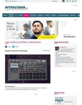 Test: Korg Electribe 2, Groovebox