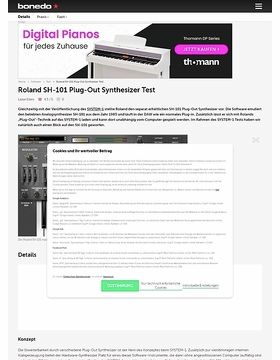 Roland SH-101 Plug-Out Synthesizer