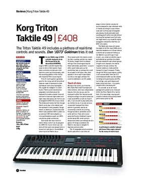 Korg Triton Taktile 49