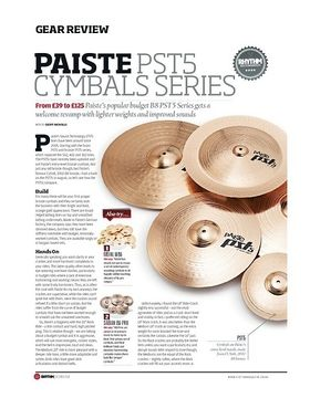 Paiste PST5 Cymbal Series