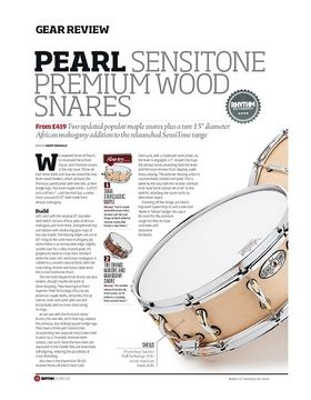 Pearl Sensitone Premium Wood Snares