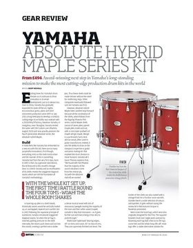 Yamaha Absolute Hybrid Maple Series Kit