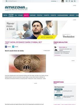 Test: Meinl Byzance Dark Cymbal Set