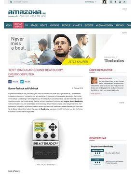 Test: Singular Sound BeatBuddy, Drumcomputer