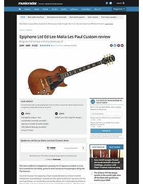 Lee Malia Signature Les Paul