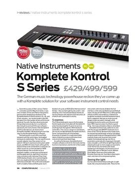 Native Instruments Komplete Kontrol S Series