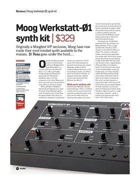 Moog Werkstatt-01 synth kit