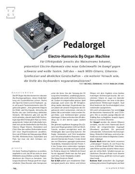Electro-Harmonix B9 Organ Machine, FX-Pedal