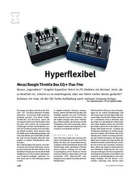 Mesa/Boogie Throttle Box EQ + Flux-Five, FX-Pedale