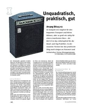 Ampeg BA115 v2, Bass-Combo