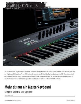 Komplete Kontrol S - MIDI-Controller