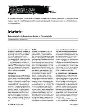 Sontronics Aria - Großmembranmikrofon in Röhrentechnik