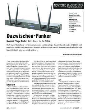 Nowsonic Stage Router - Wi-Fi-Router für die Bühne