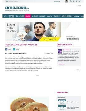 Test: Zildjian Gen16 Cymbal Set