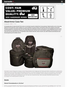 Ahead Armor Cases