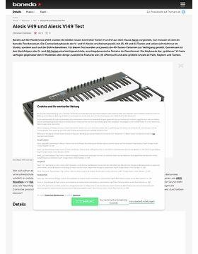 Alesis V49 und Alesis VI49