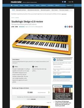 Studiologic Sledge v2.0
