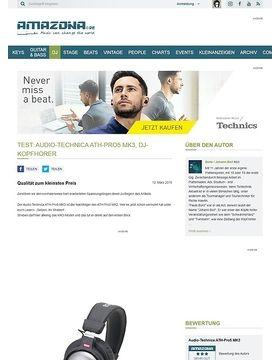 Test: Audio-Technica ATH-Pro5 MK3, DJ-Kopfhörer