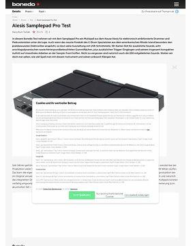 Alesis Samplepad Pro Test