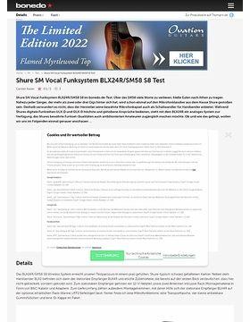 Shure BLX24R/SM58