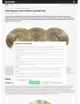 Meinl Byzance Tradition Cymbals