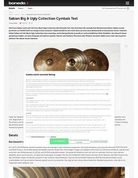 Sabian Big & Ugly Collection Cymbals
