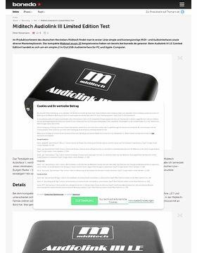 Miditech Audiolink III Limited Edition