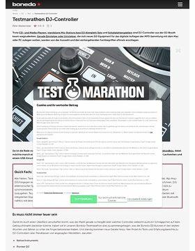 Testmarathon DJ-Controller