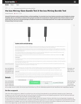 the box Miniray Slave Bundle & the box Miniray Bundle