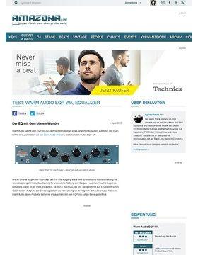 Test: Warm Audio EQP-WA, Equalizer