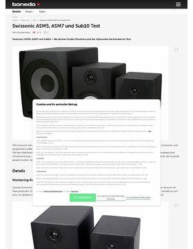 Swissonic ASM5, ASM7 und Sub10