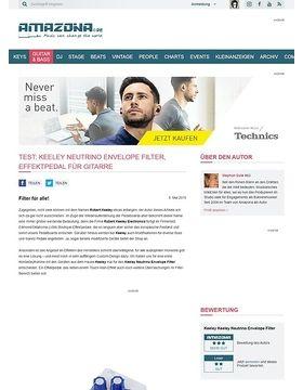 Test: Keeley Neutrino Envelope Filter, Effektpedal für Gitarre