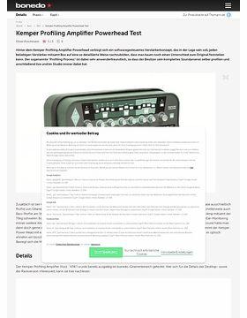 Profiling Amp PowerHead Set