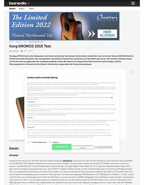Korg KRONOS 2015