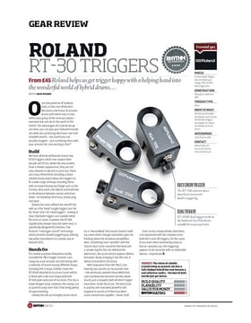 Roland RT 30 Triggers