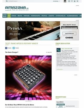 Special: Rane MP2015, DJ-Mixer