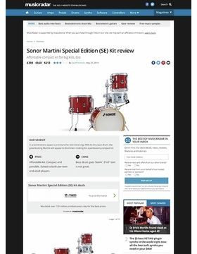 Sonor Martini Special Edition