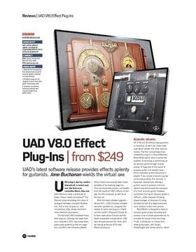 UAD V8.0 Effect Plug-Ins