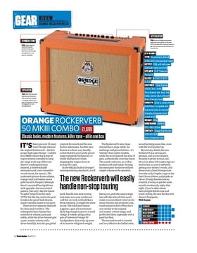 Orange Rockerverb 50 MkIII Combo