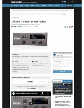 Softube Transient Shaper