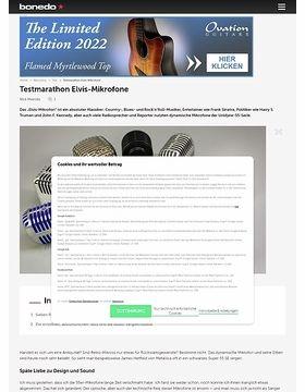 Testmarathon Elvis-Mikrofone