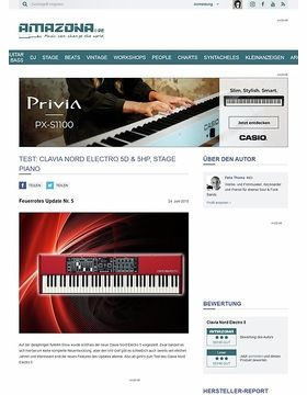 Test: Clavia Nord Electro 5D & 5HP, Stage Piano