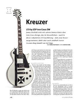 LTD by ESP Iron Cross SW, E-Gitarre