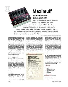 Electro-Harmonix Deluxe Big Muff π, FX-Pedal