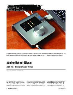Zoom TAC-2 Thunderbolt-Audio-Interface