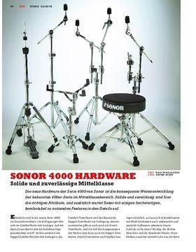 SONOR 4000 Hardware - Aufwertung mit neuen Features